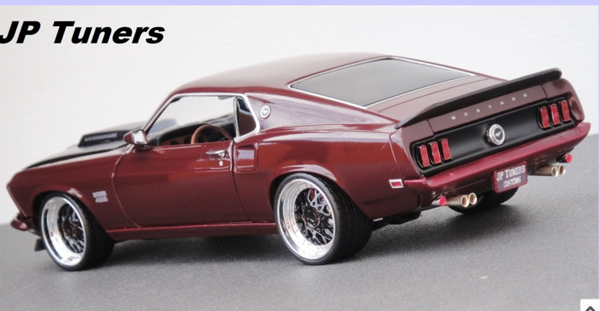 1 18 mustang boss 1969 429 tuning jp tuners 1 18 tuning. Black Bedroom Furniture Sets. Home Design Ideas