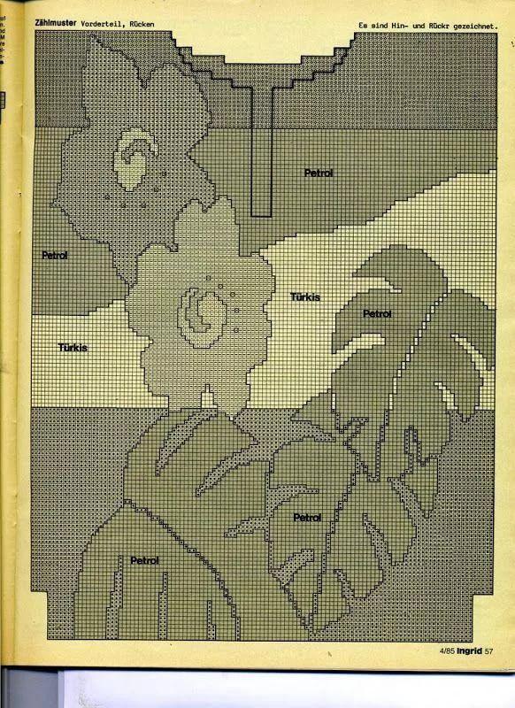 интарсия вязание схемы: 11 тыс изображений найдено в ...
