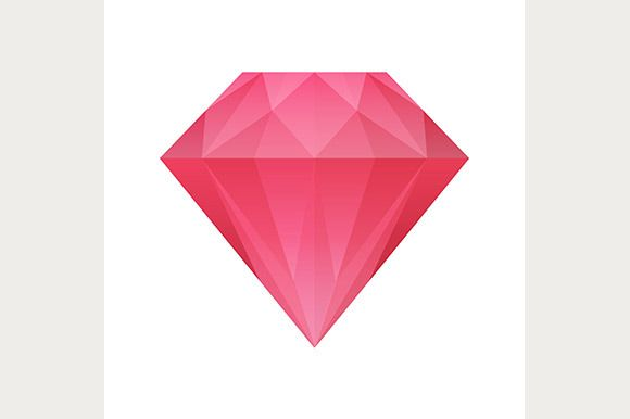Shiny diamond icon by Kurokstas on @creativemarket