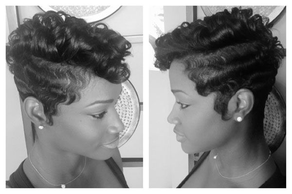 Surprising 1000 Images About Classy Finger Waves On Pinterest Finger Waves Hairstyle Inspiration Daily Dogsangcom