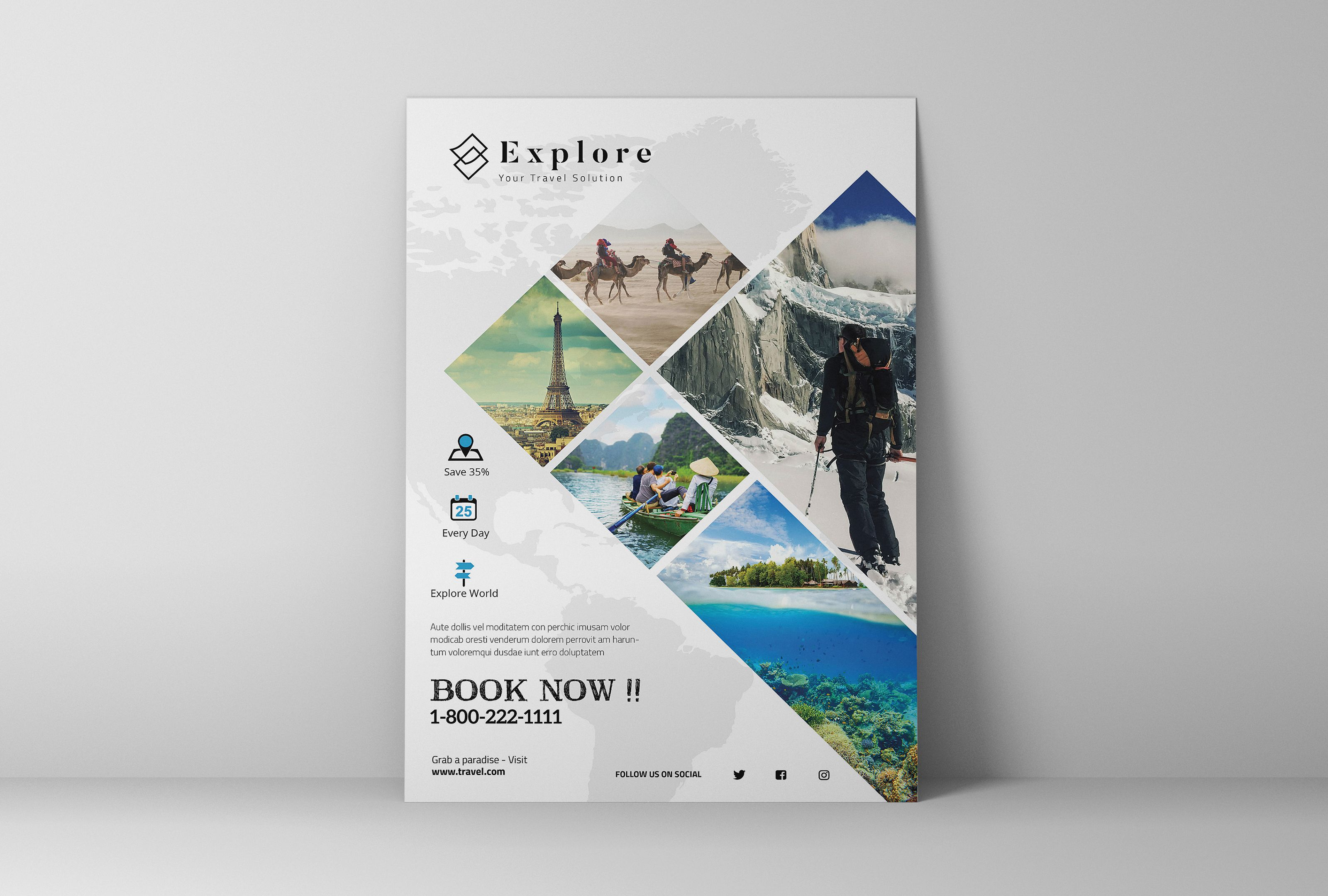 trave brochure