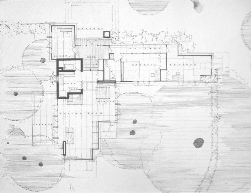 58 Lovely Image Pope Leighey House Floor Plan House