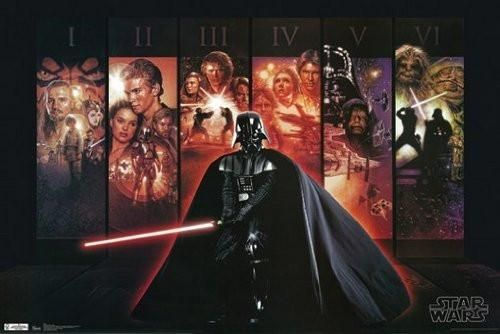 STAR WARS POSTER Amazing Collage RARE HOT NEW 24x36 VW0