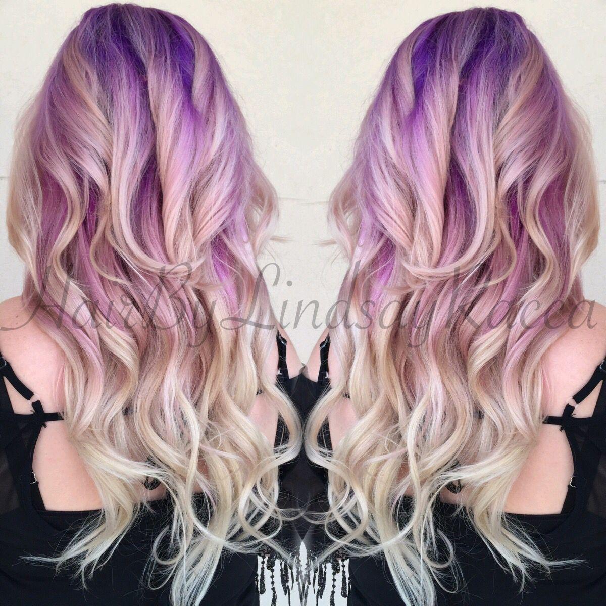 #purpletoblondeombre #purpleombre #blondeombre #ombre #longhair #purplehair #lavenderhair #extensions #modernsalon #btcpics #americansalon #angelofcolour #hotonbeauty #allaboutdahair #beautylaunchpad #hairunited #instahair #hairbrained #vividhair #hair #haircut #hairstyle #hairstylist #colorspecialist #haircolor #colorist #batonrouge #batonrougestylist #batonrougehair #vividstudio #hairbylindsayracca #hairhero #btc #effboringhair