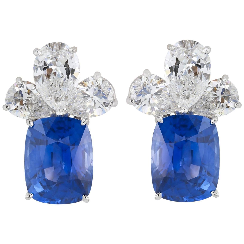 AGL Certified 16 47 Carat Natural Unheated Ceylon Sapphire Diamond