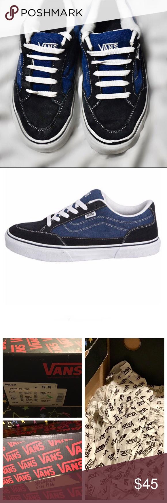Vans Bearcat Skate Shoes Vans Bearcat Shoes, Suede/canvas