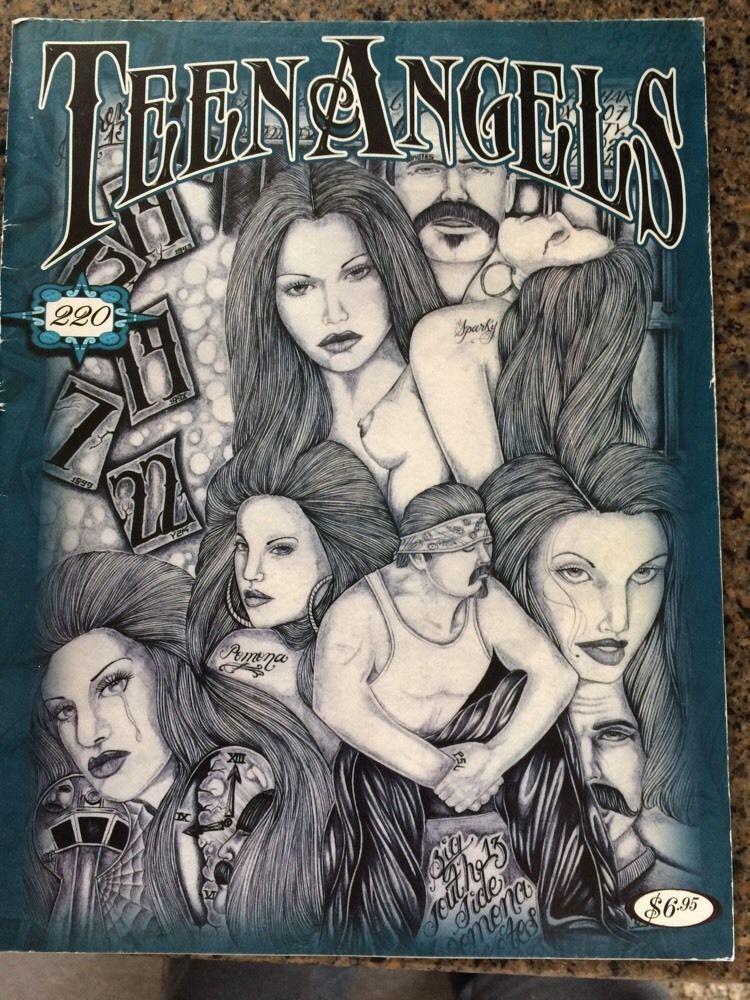 TEEN ANGELS MAGAZINE #220 LOWRIDER CHICANO CULTURE TATTOO ART FLASH *VG*