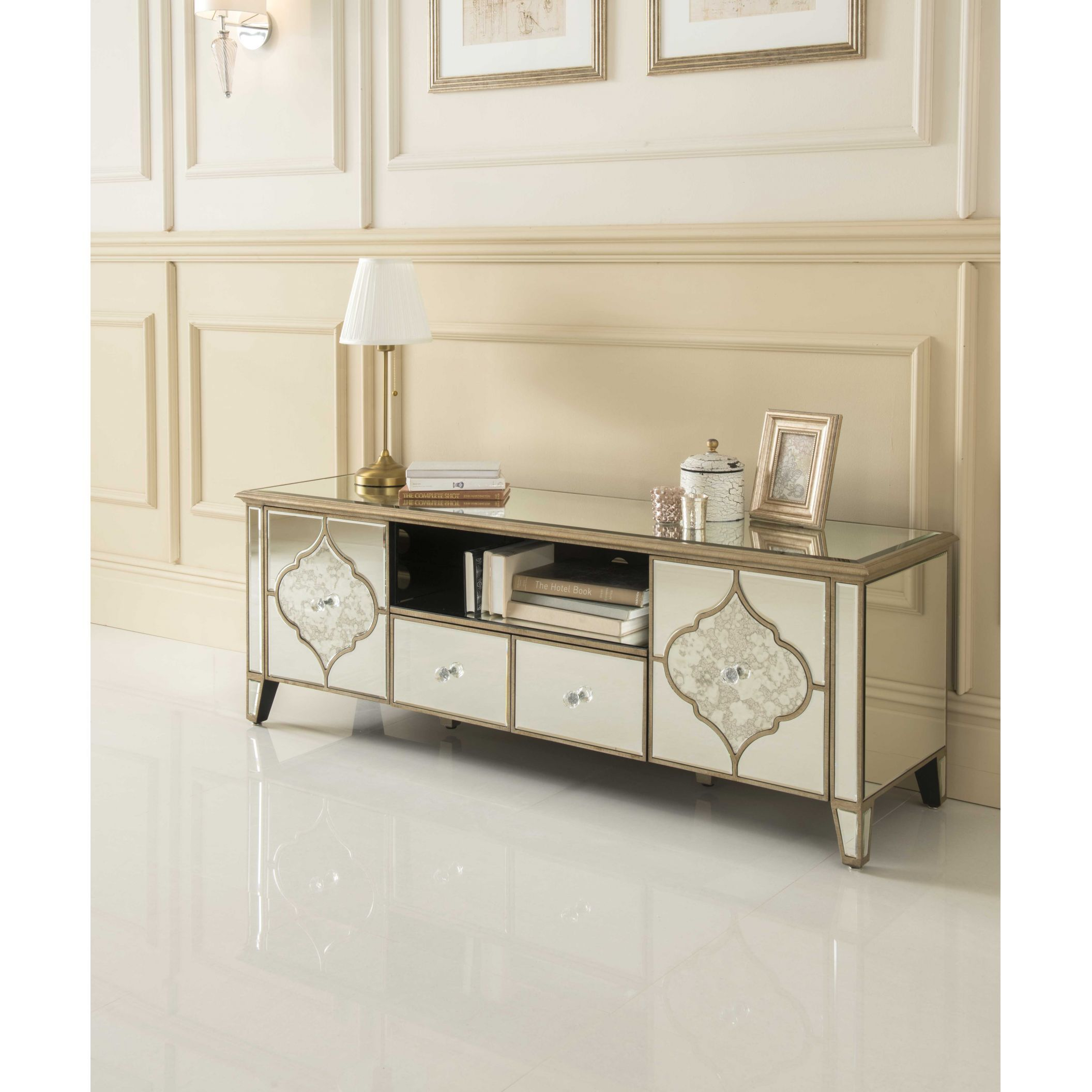 Sassari Mirrored TV Cabinet NOW £719.99 - From our collection of ...