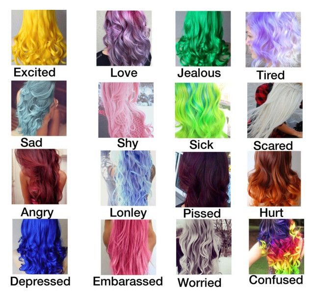 Feelings Moods Hair With Images Zodiac Sign Fashion Rainbow