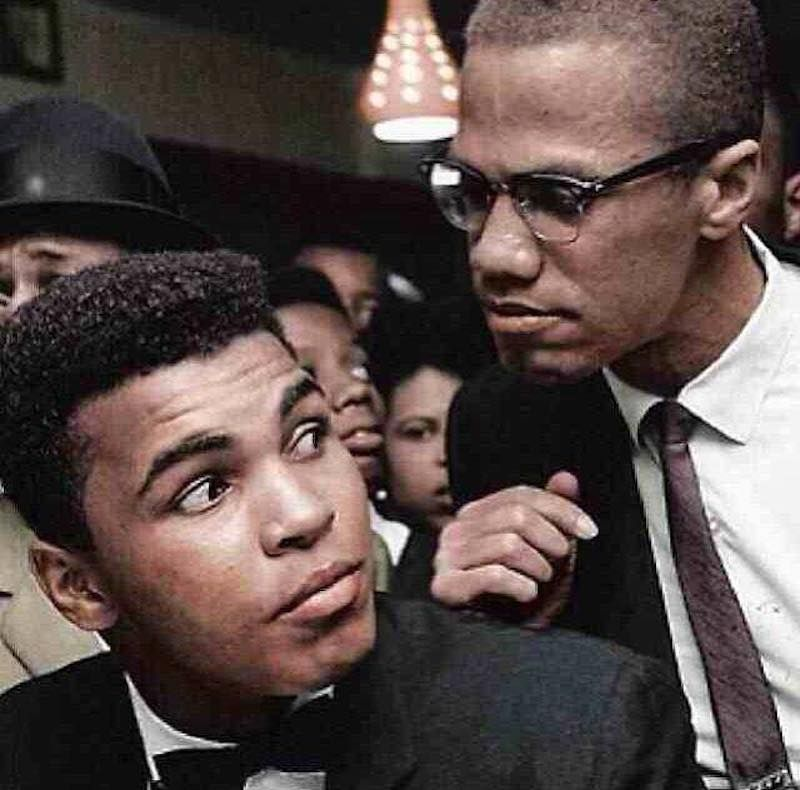 008 The activist Mohammad Ali, pictured here with one of his