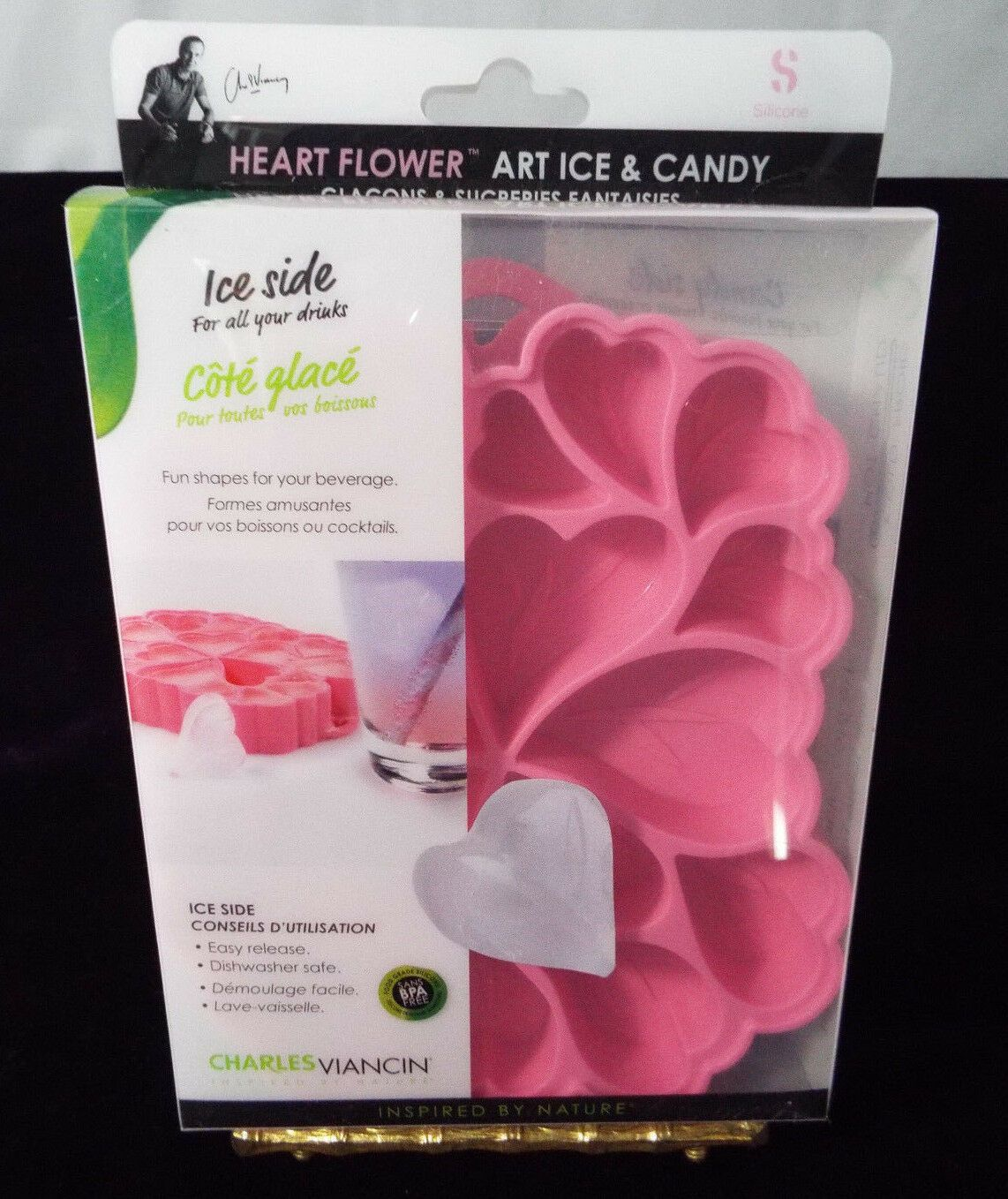 Ice Tray Or Candy Mold Pink Hearts Candy Flowers Heart Candy Candy Molds