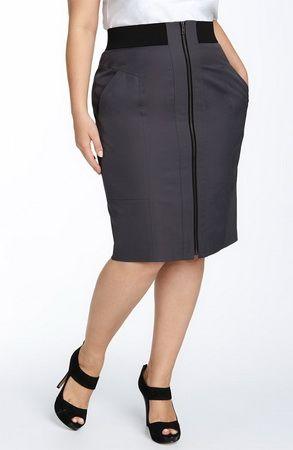 юбки для полных в 2020 г. | Юбка, Одежда и Наряды