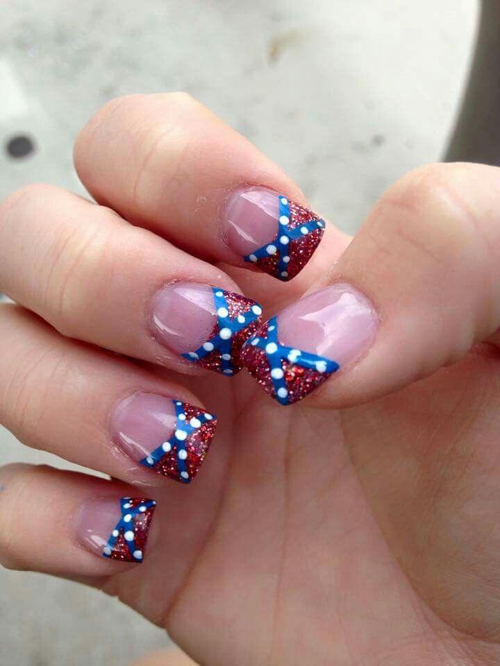 Rebel Flag nails - Rebel Flag Nails Our Nails Pinterest Rebel Flag Nails, Flag