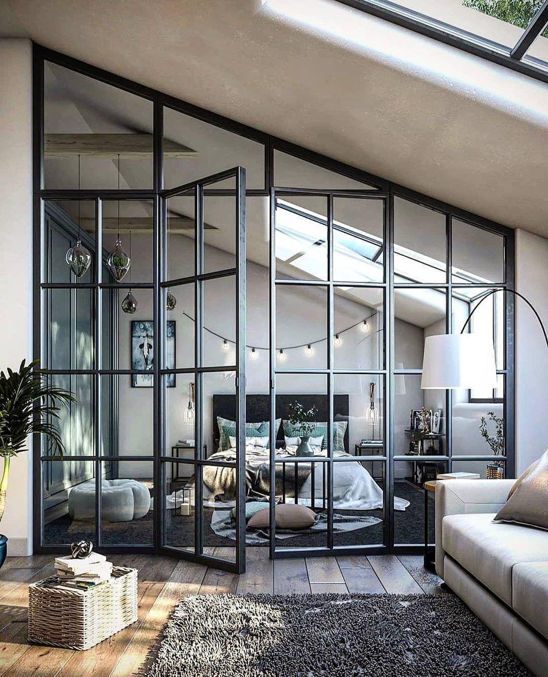 Photo of #livingroom Home Decor & Interior Designs on Instagram: Love the see through doo…