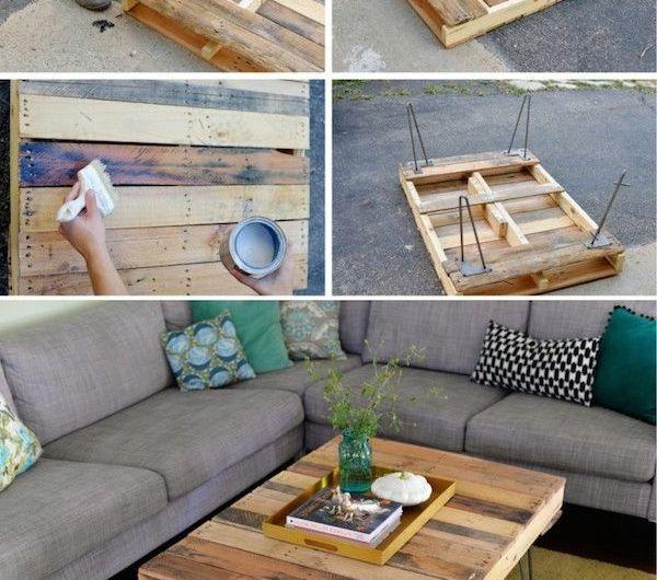 50 Idées Pour Une Table Basse Avec Palette ! | Tables
