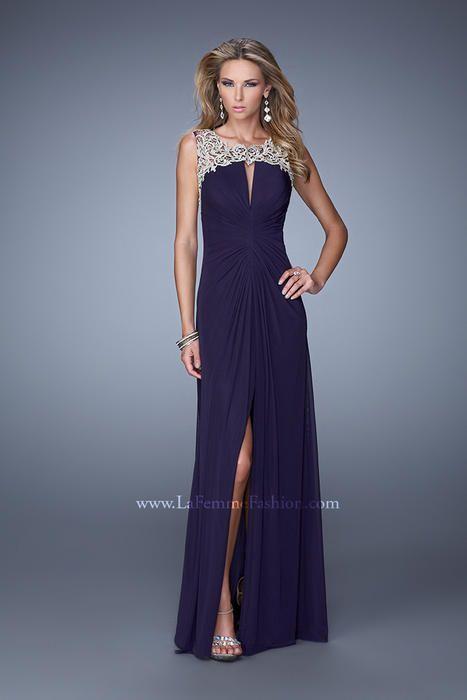 babc931f0c4 La Femme 21293 La Femme Prom - Effie s Boutique Brooklyn NY Pretty Prom  Dresses
