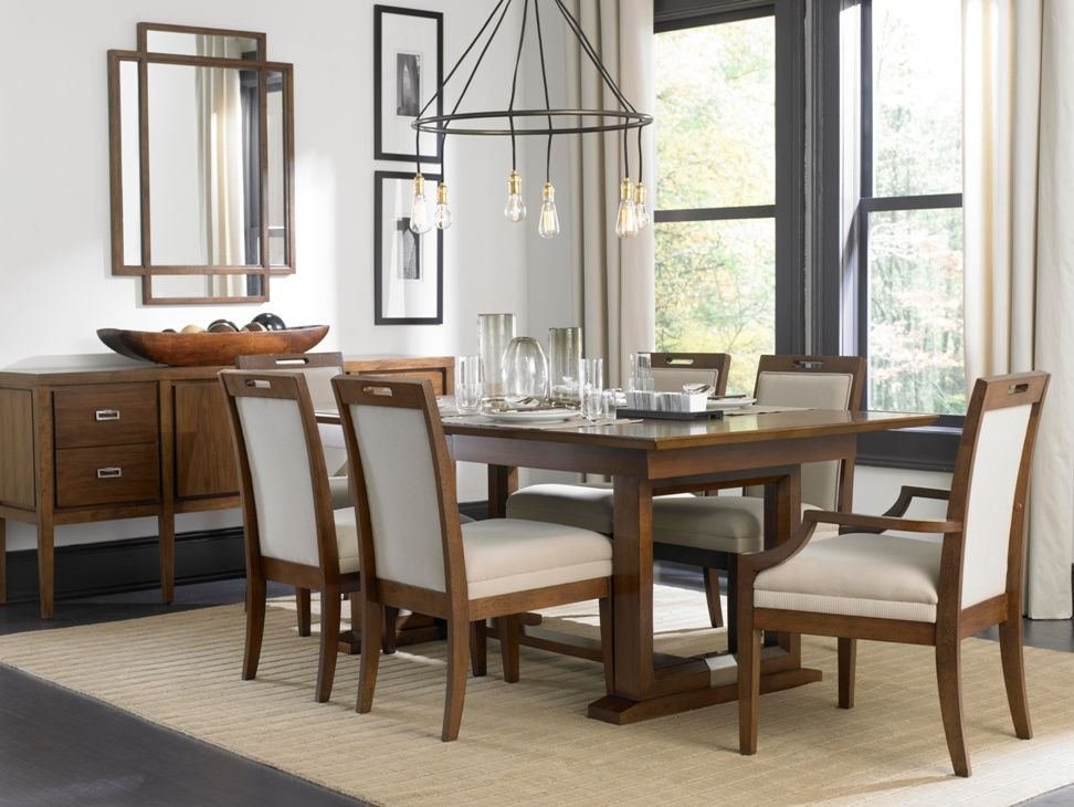 Suede Dining Room Furniture Broyhill At DAWS Home Furnishings In El Paso TX