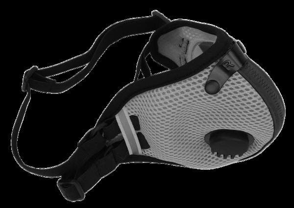 M2.5 Mesh Mask Titanium Velcro straps, Bag storage, Mask