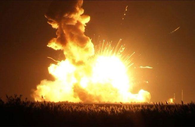 Ракету Antares подорвали намеренно