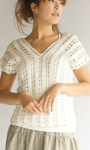 Vertically Crocheted Vest Free Pattern At Ravelry Takes You To