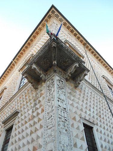 Palazzo Diamanti,  Quadrivio degli Angeli_ Ferrara