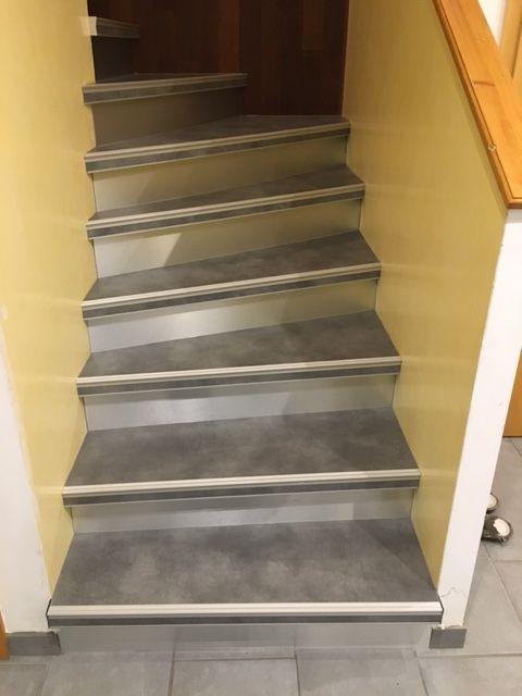 Recouvrement Escalier Habillage Marche Renovation Cage D