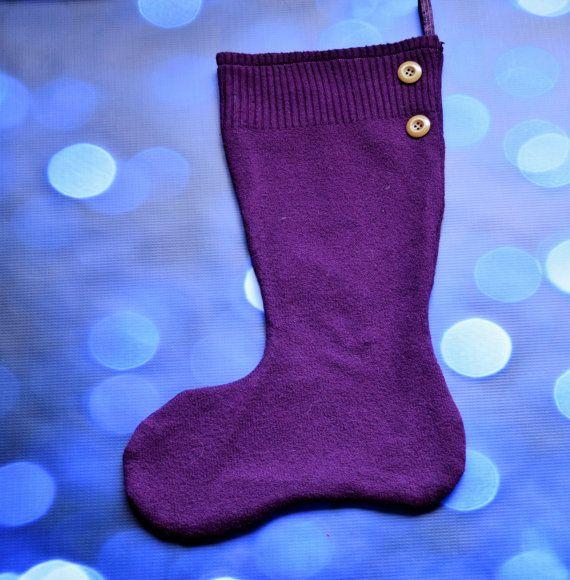 Aubergine/Purple/Plum/Dark Grape knit by PaisleyStarCreations
