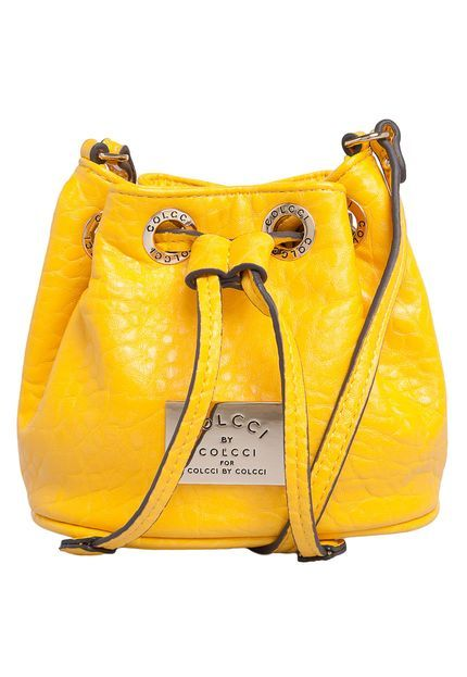 9a55f230f Bolsa Colcci Saco Amarela | Whish list | Fashion bags, Bags e Bucket Bag