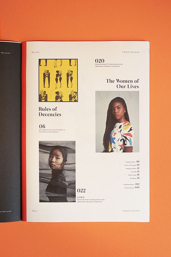 A Decent Magazine by Ezra Yew Wah Ng,  via Behance