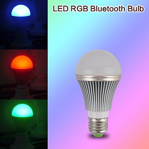 Sensky Lyd694 Bluetooth Rgb Led Smart Light Bulb Light Lamp For Android Ios Phone Ac85vac240v Bluetooth Light Bluetooth Light Smart Light Bulbs Smart Lighting