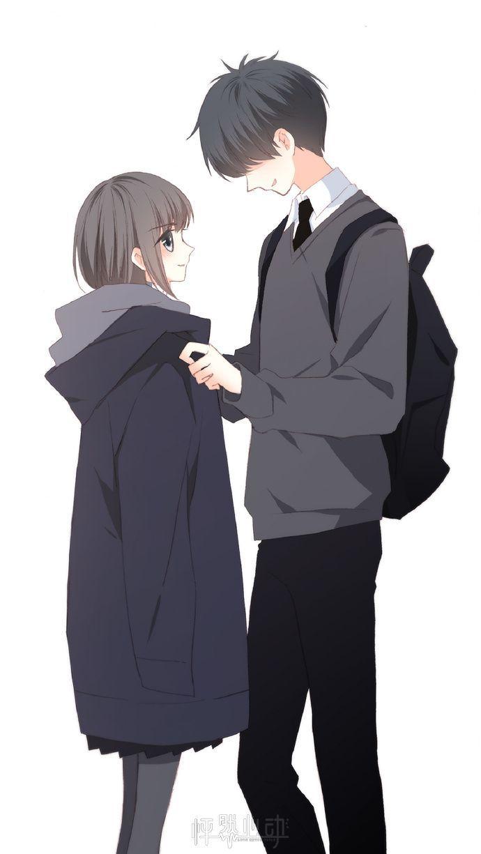 Pin Di Anime Couples