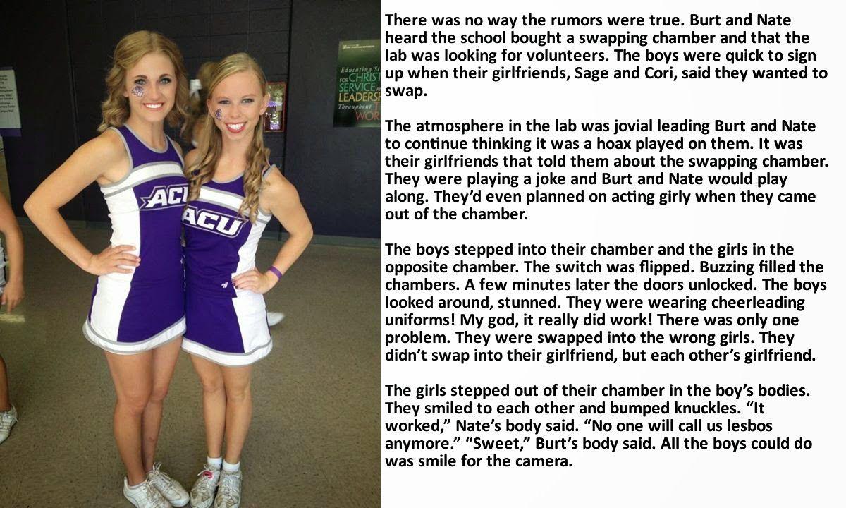 Tg Caption Cheerleader 1
