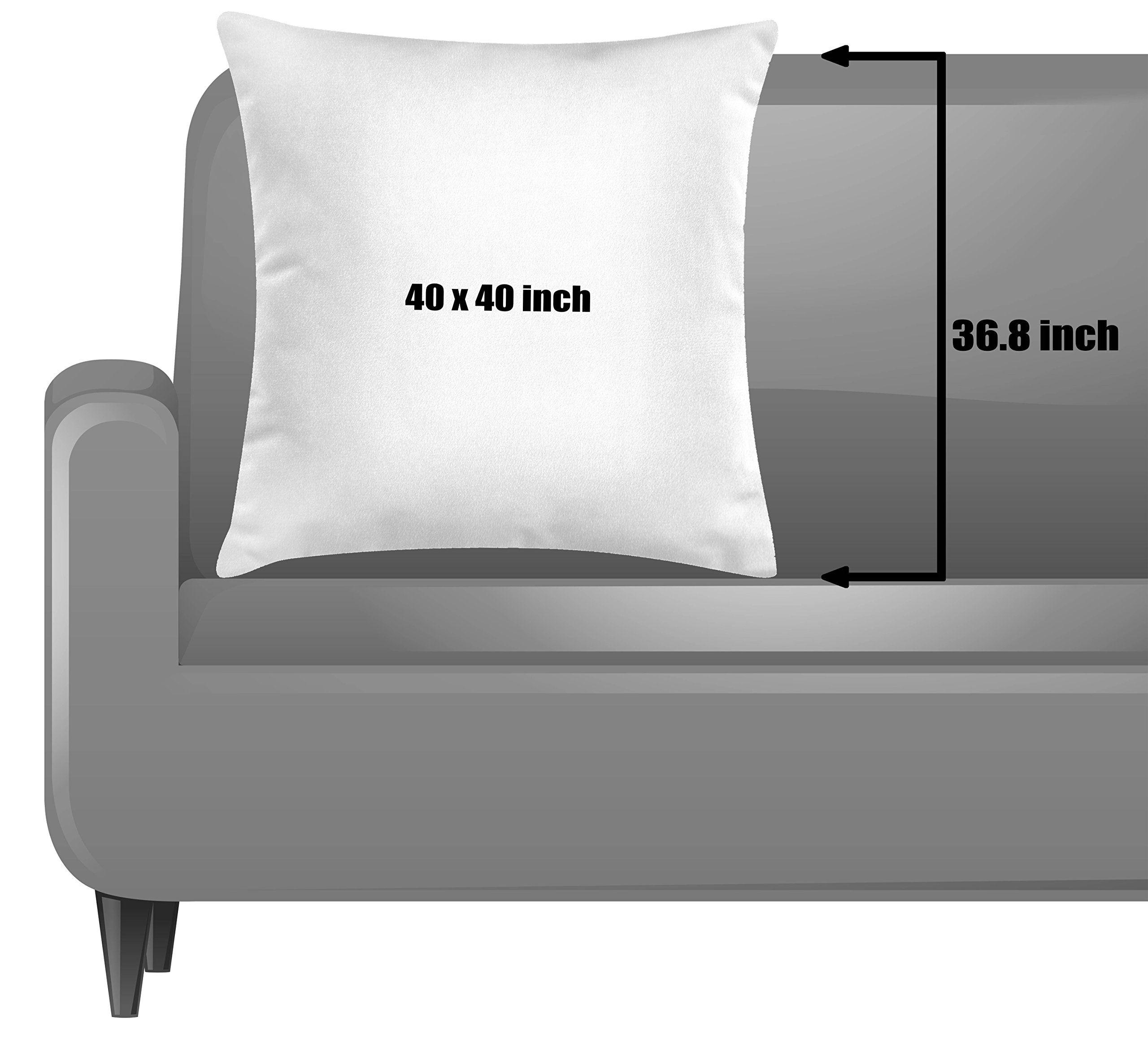 Throw Pillow Cushion Cover by Dead Man