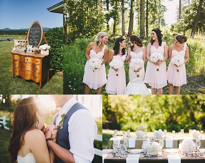 Rustic Romance Wedding In Trout Lake By Tonhya Kae Photography