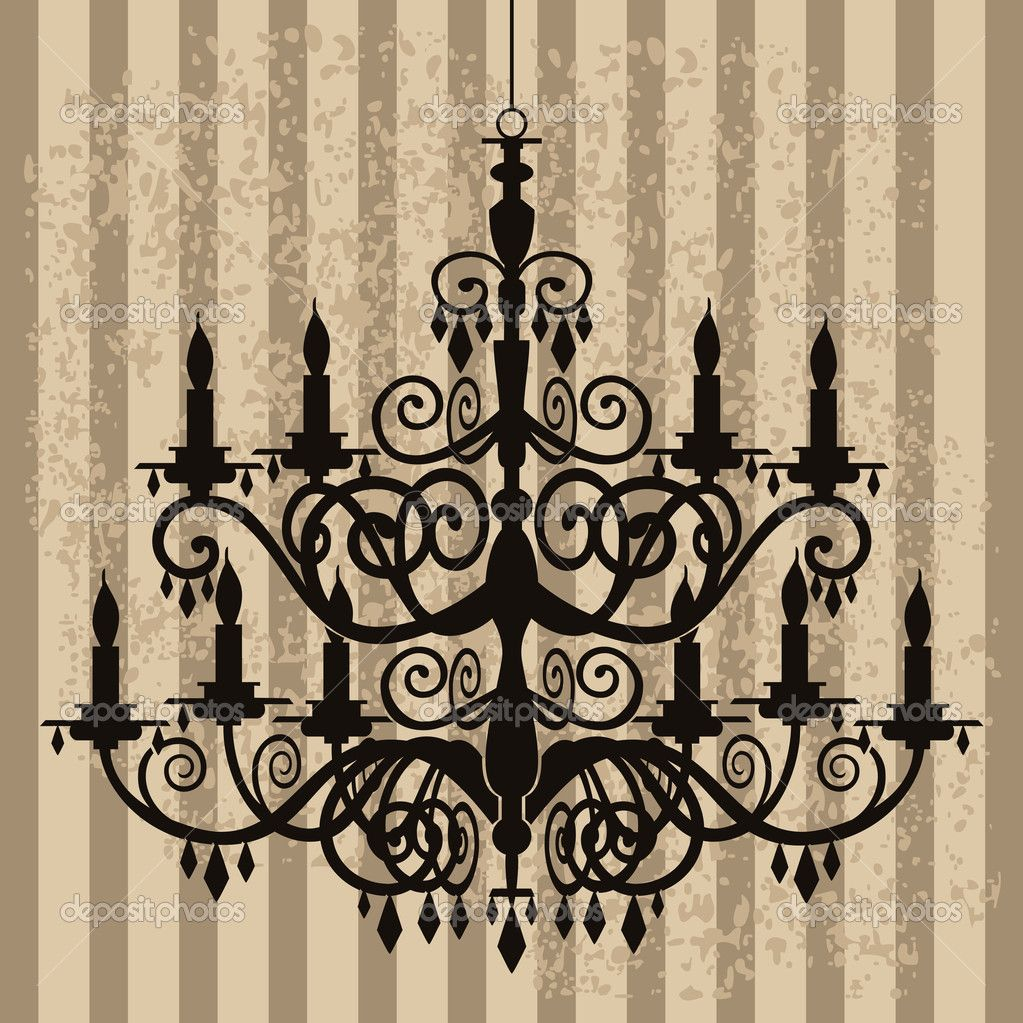 Vintage chandelier vintage chandelier on antique background vintage chandelier on antique background stock illustration picture arubaitofo Image collections