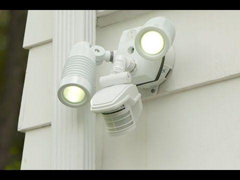 How To Install A Motion Sensor Security Light
