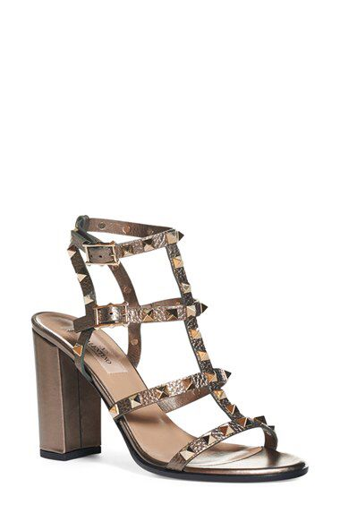 d8d468ed223 Valentino Valentino  Rockstud  Cage Sandal (Women) available at  Nordstrom