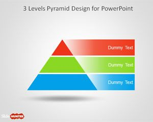 Free 3 Level Pyramid Template For Powerpoint Free Powerpoint