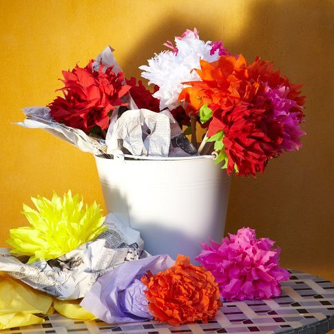 Mexican crepe paper flowers dahlia west elm flowers mexican crepe paper flowers dahlia west elm mightylinksfo