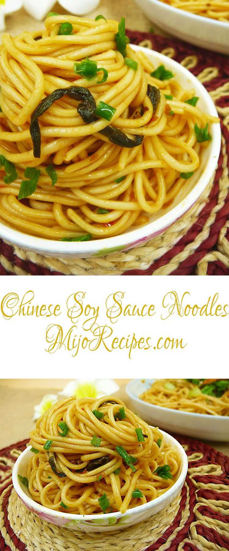 Easy noodle recipes soy sauce