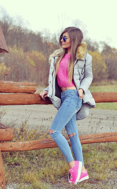 plain outfit casual mujer frio 12
