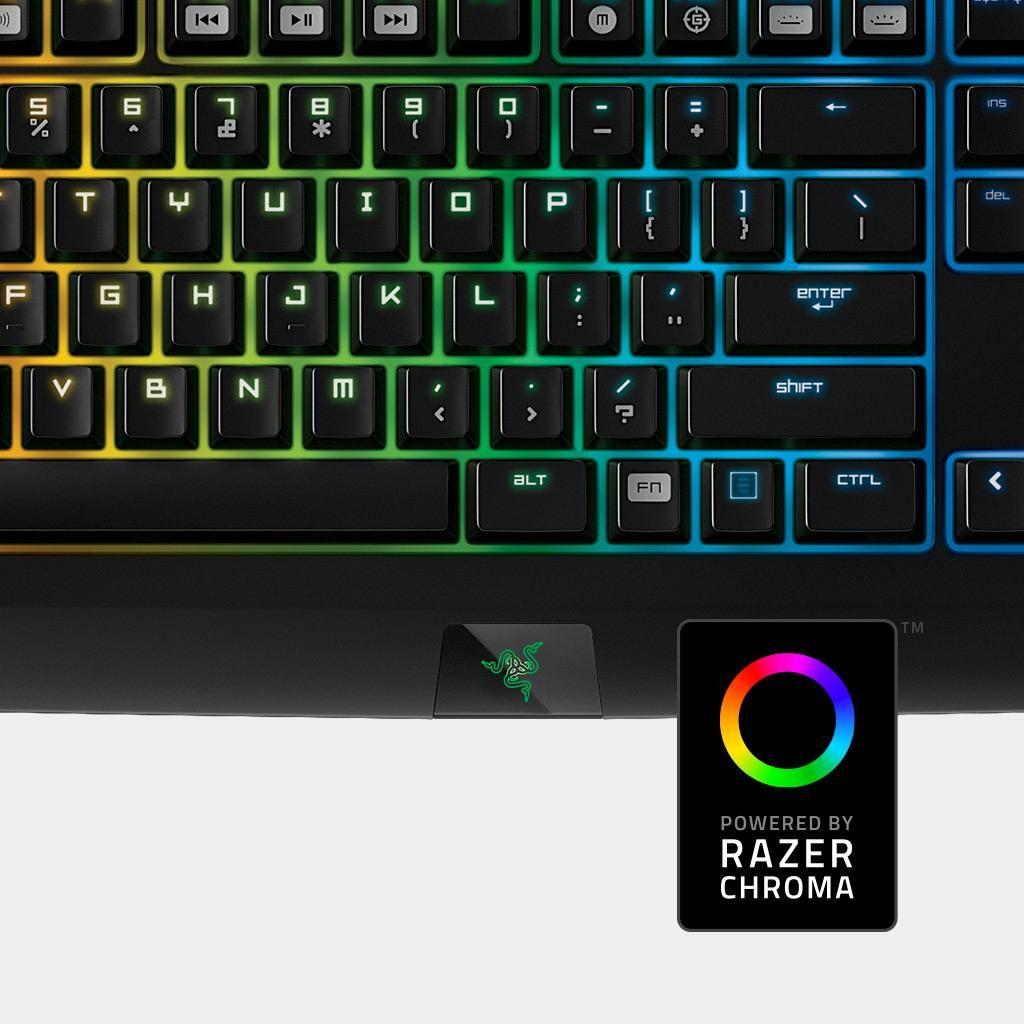 Amazon com: Razer BlackWidow Chroma Clicky Mechanical Gaming