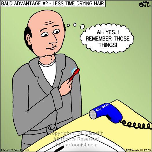funny hair cartoons Provillus natural hair loss