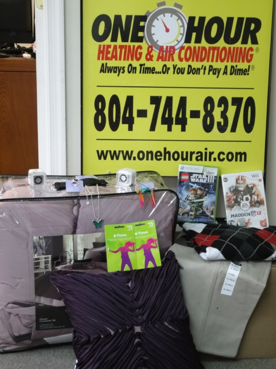 One Hour Heating & Air Is Happy To Participate In The