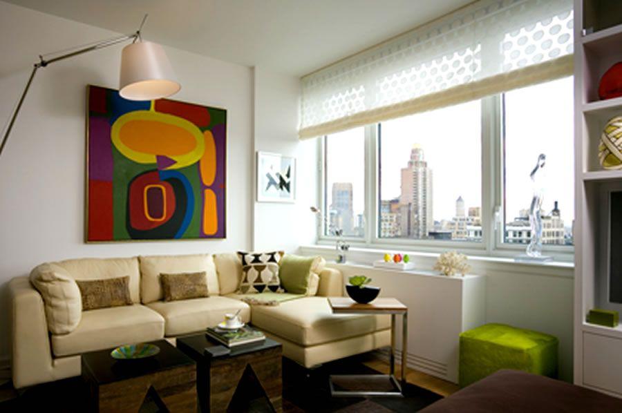 Alcove Studio Living Room Interior Design Chelsea Landmark ...