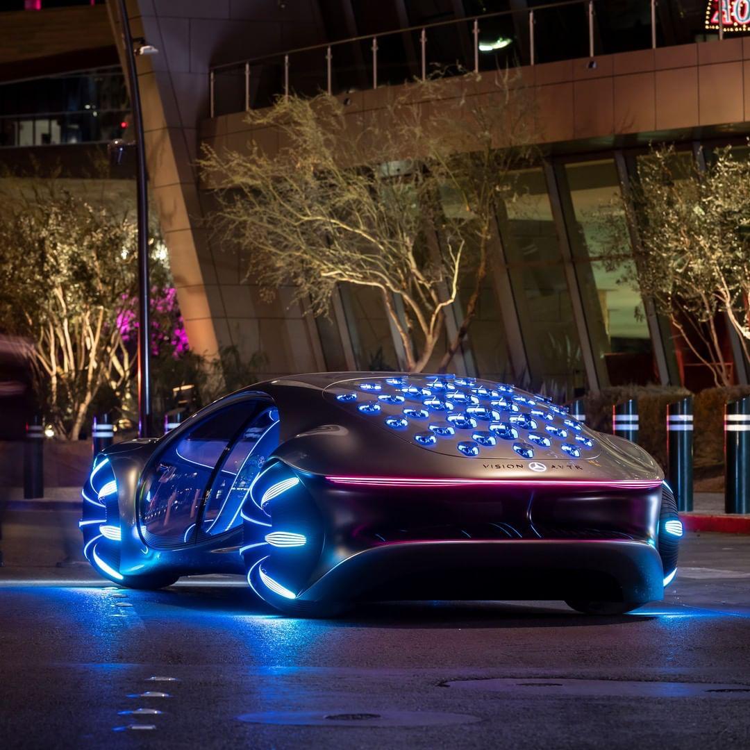(Future Mercedes Benz Car) In 2020