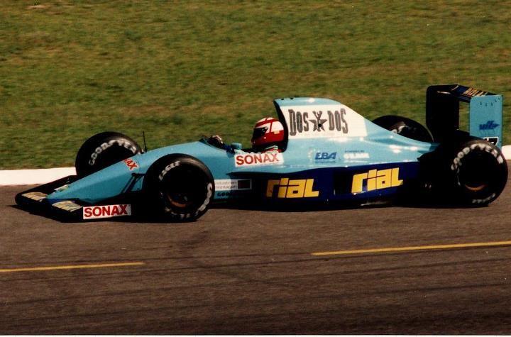 F 1 1992 March-Ilmor P. Belmondo
