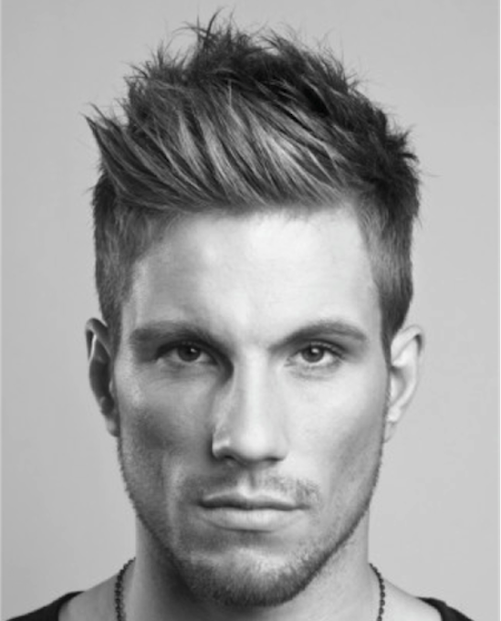 Man With Hard Part Low Fade Hairstyle