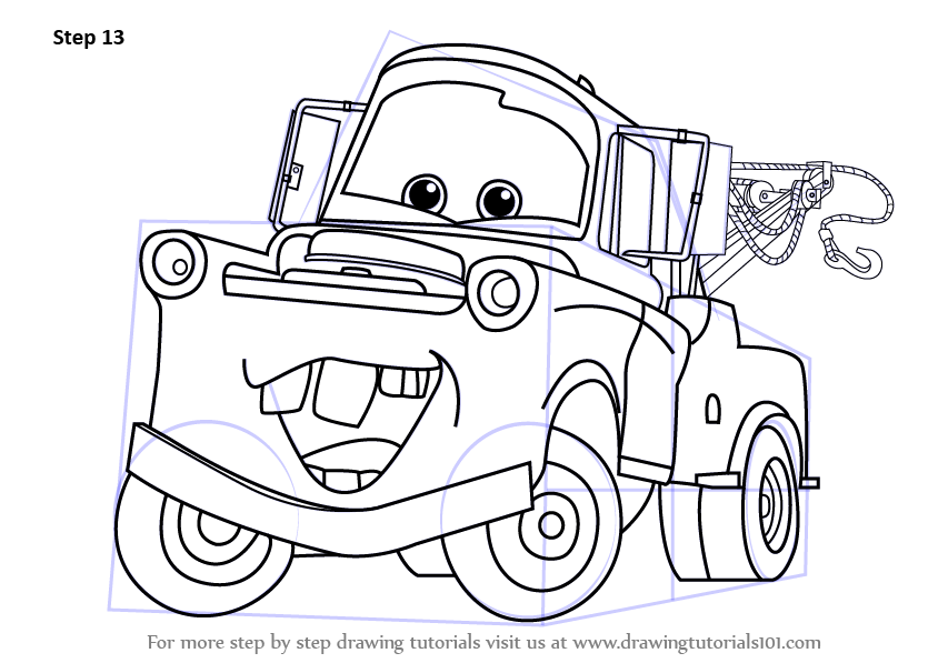 Image Result For Cars Tomater Coloring Page
