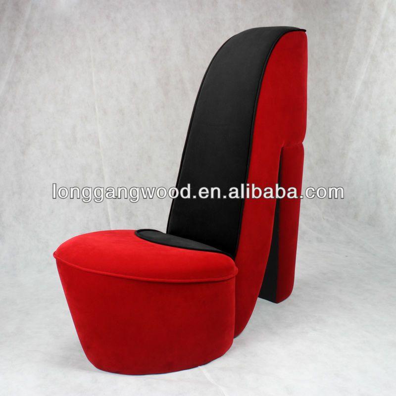 Hot Sales High Heel Shoe Chair Kids Chairs Kids Sofa Shoe Chair High Heel Shoe Chair Sofa Chair